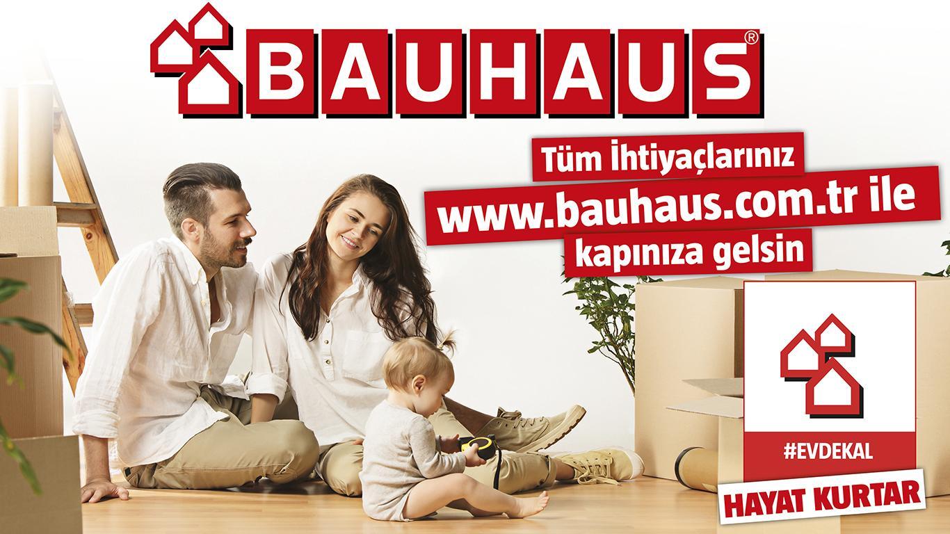 Bauhaus Türkiye'de online siparişler kapınıza teslim ediliyor
