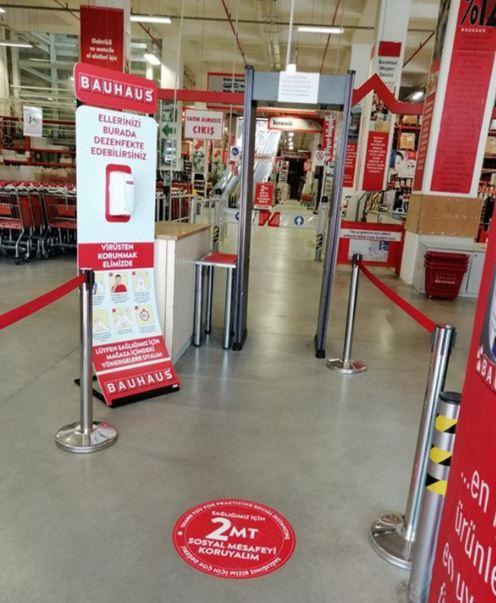 Bauhaus Türkiye 4 mayıs'ta mağazalarını açıyor