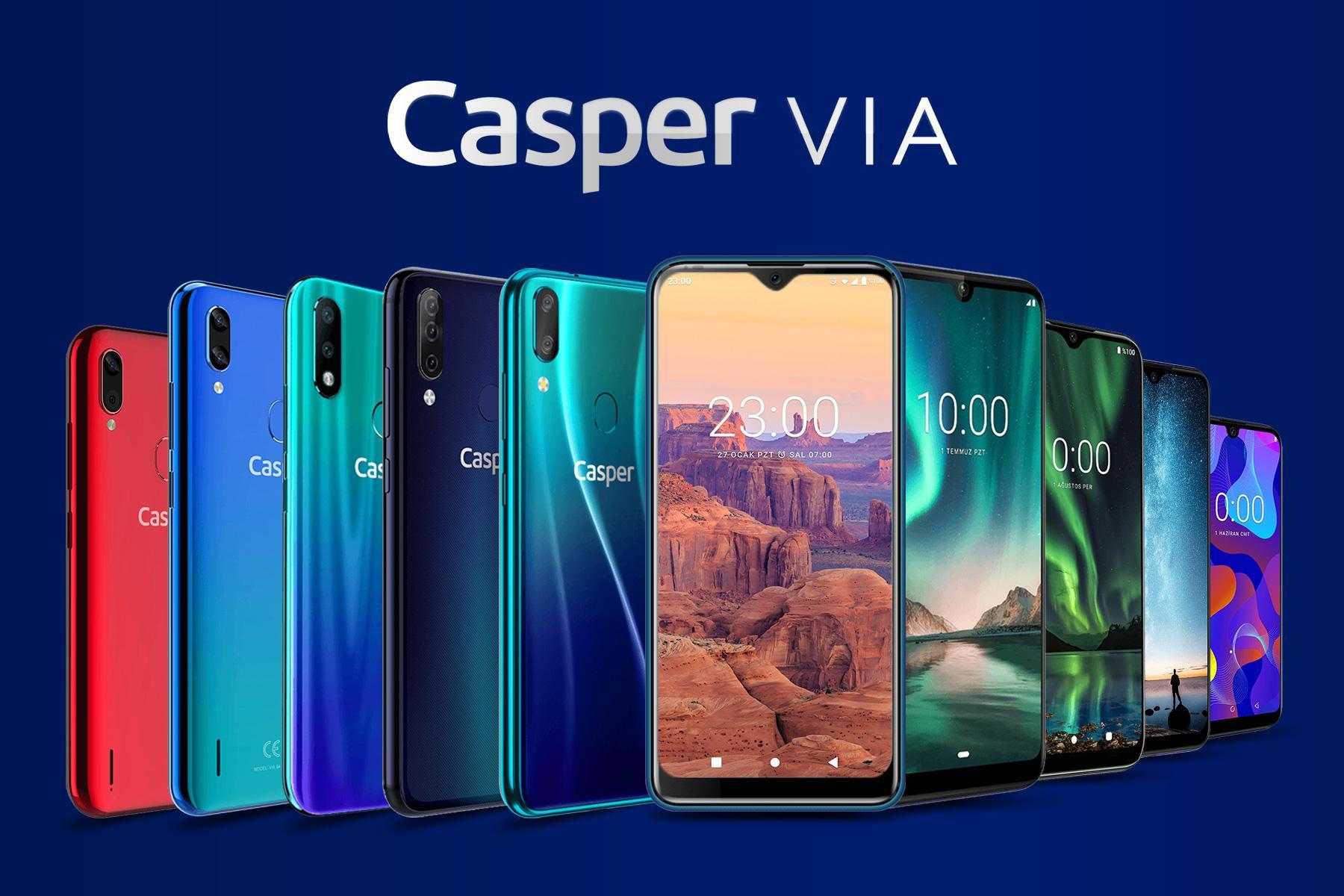 Casper VIA cep telefonlarında nisan fırsatı