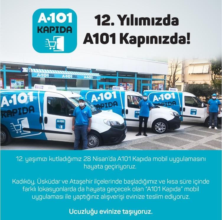 A101 evlere siparişe başladı