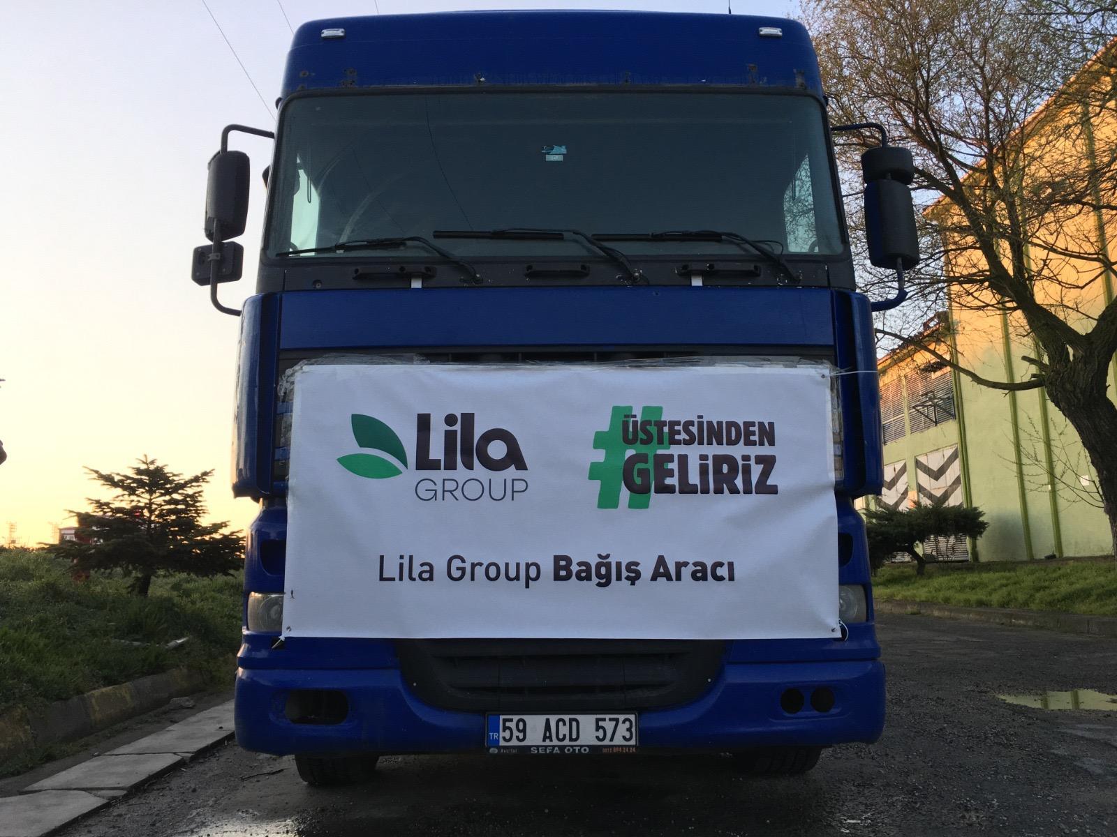 Lila Group'tan 3 aylık hijyenik temizlik kâğıdı bağışı