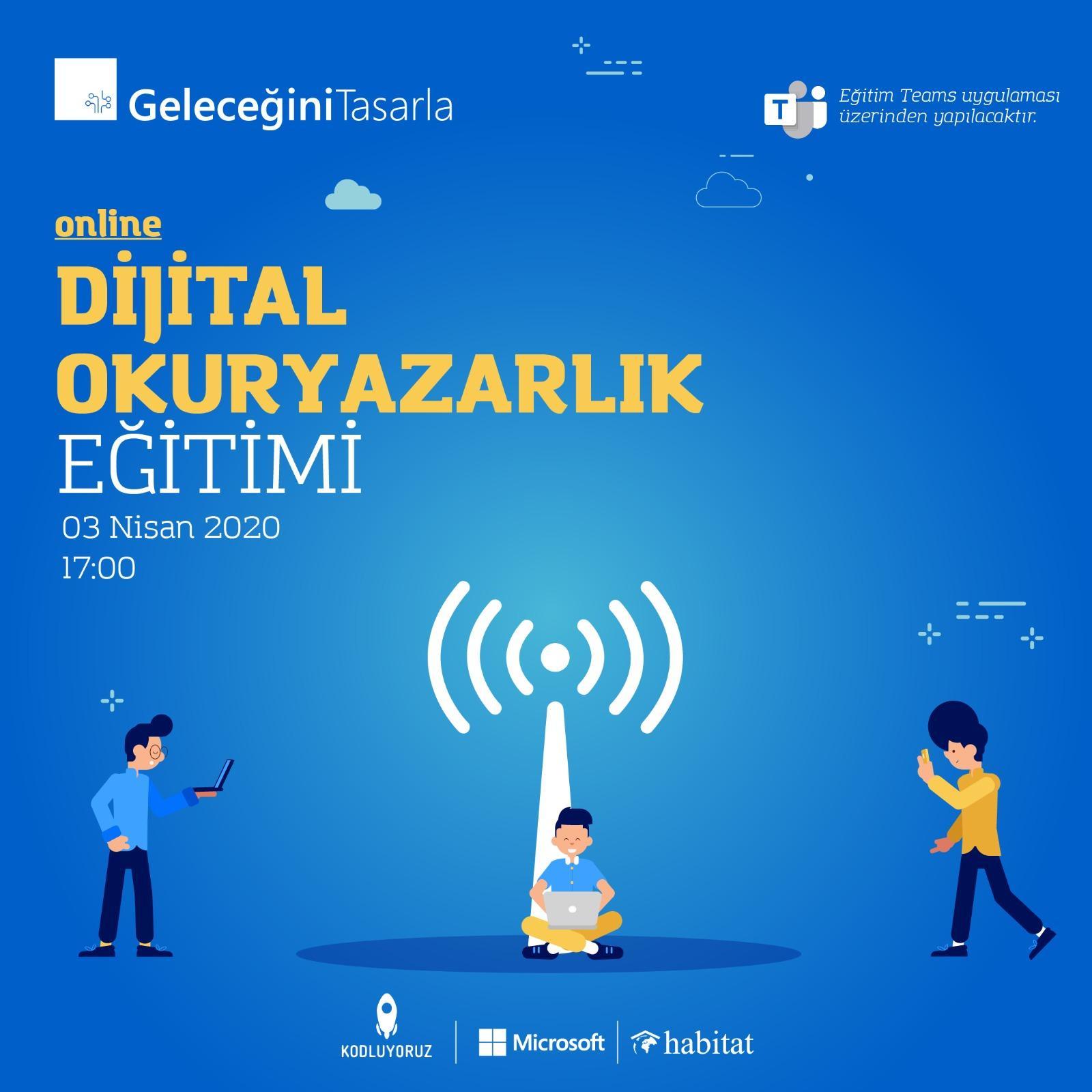 Geleceğini Tasarla Eğitimleri Dijitale Taşınıyor