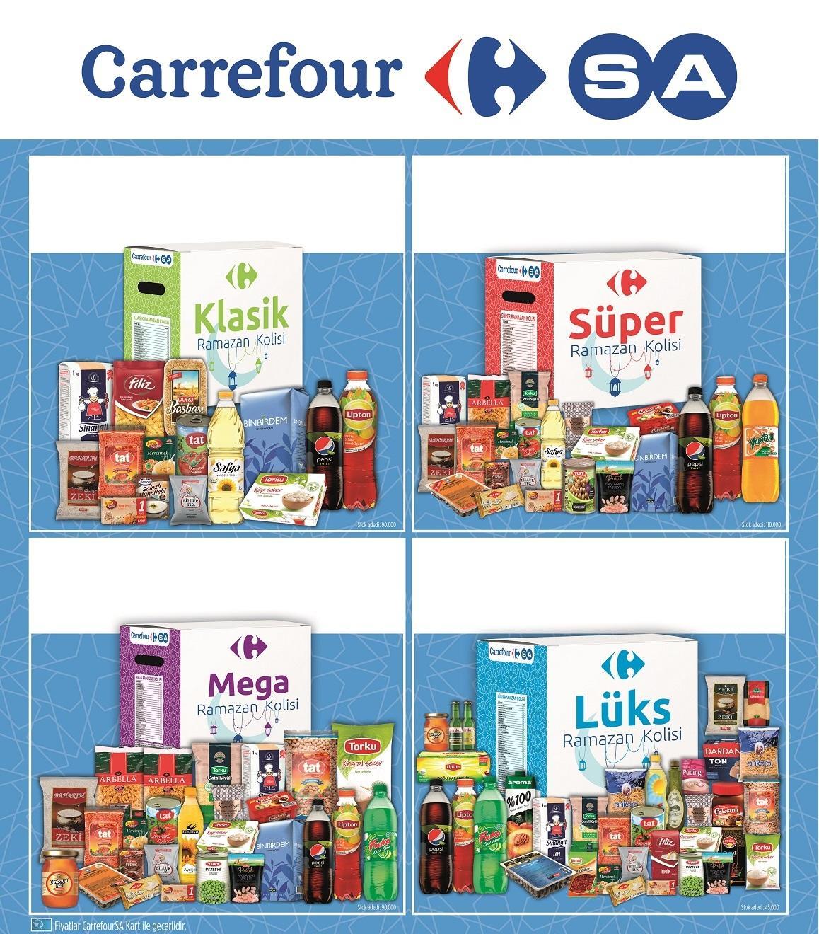 CarrefourSA, Ramazan Kolilerinin satışına başladı