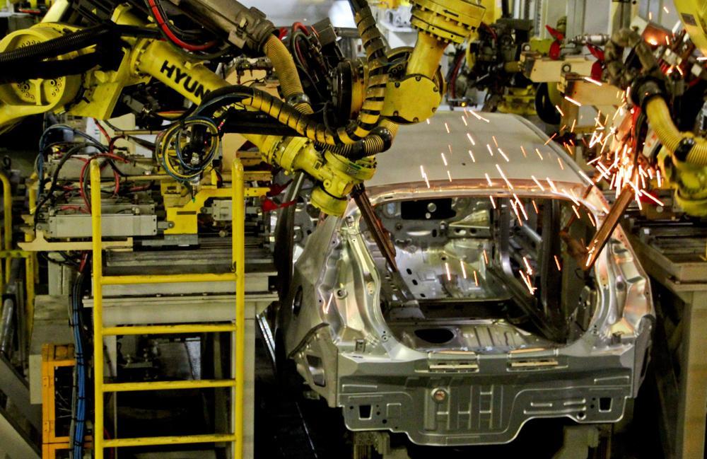 Hyundai Güney Kore'de üretimi durduruyor
