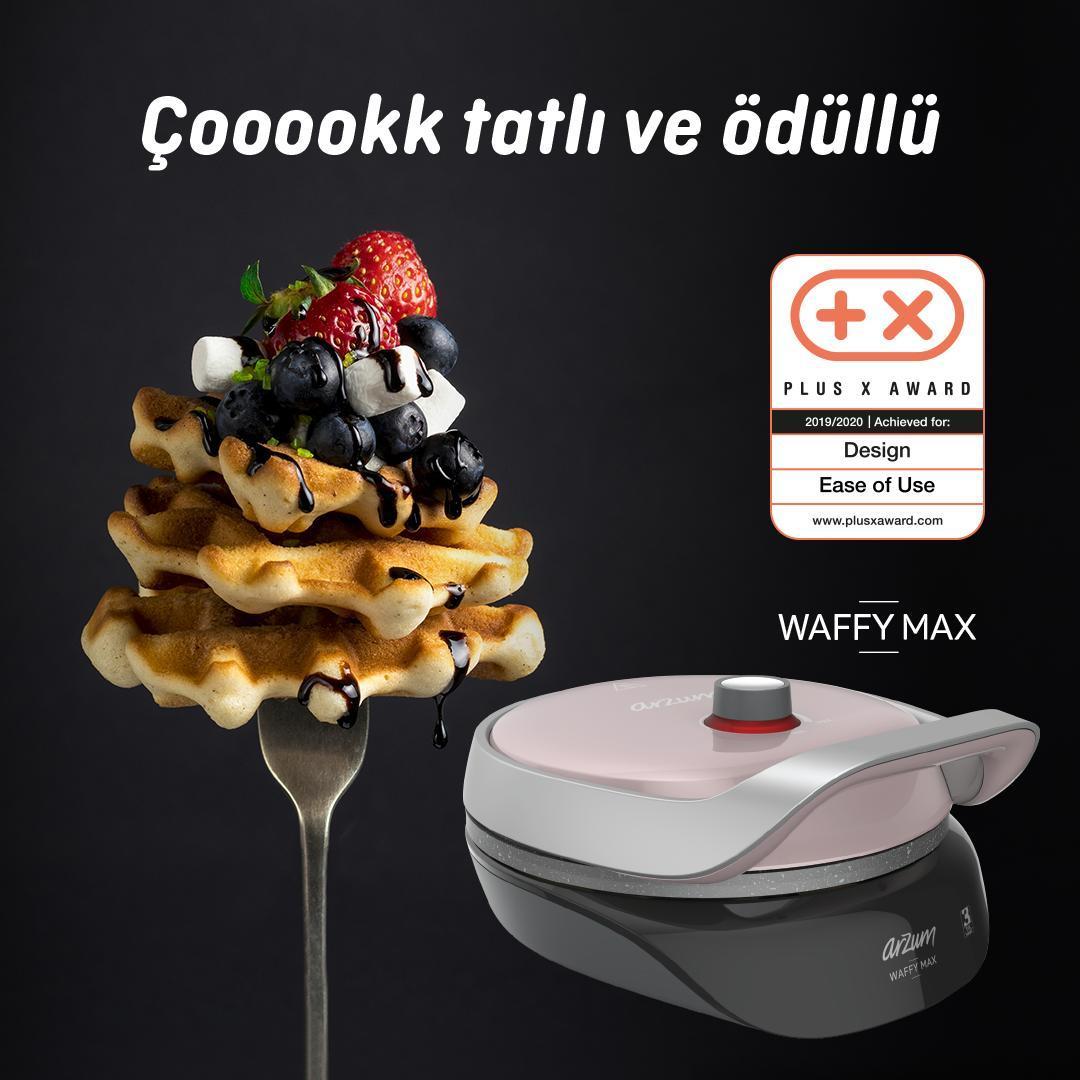 Arzum Waffy Max Waffle Makinesi kaç farklı yemek yapabilirsiniz