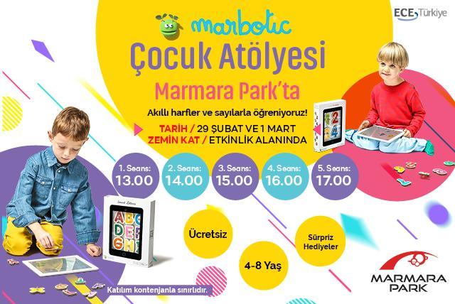 Marbotik Çocuk Atölyesi Marmara Park'ta
