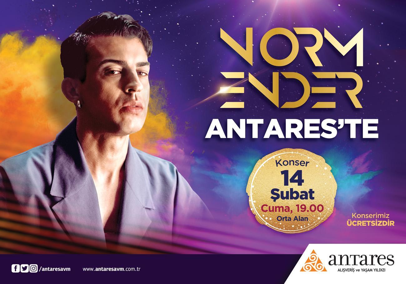 Norm Ender Sevgililer Gününde Antares'te