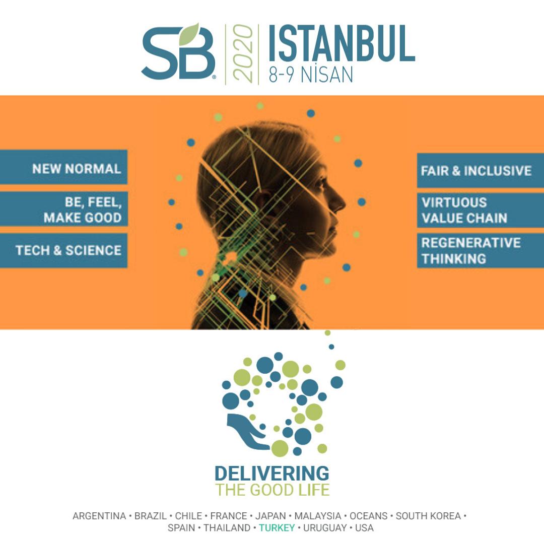 """""""İyi Yaşam Haritası"""" Sustainable Brands İstanbul'da çizilecek"""