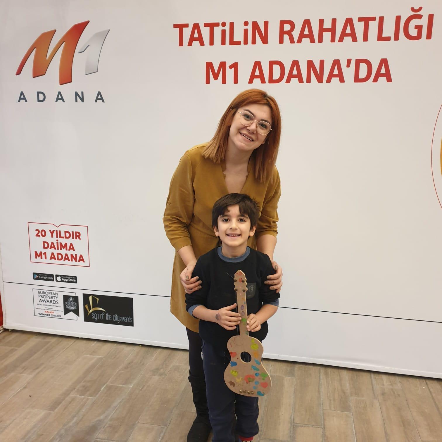 Sömestr tatilinin rahatlığı M1 Adana'da