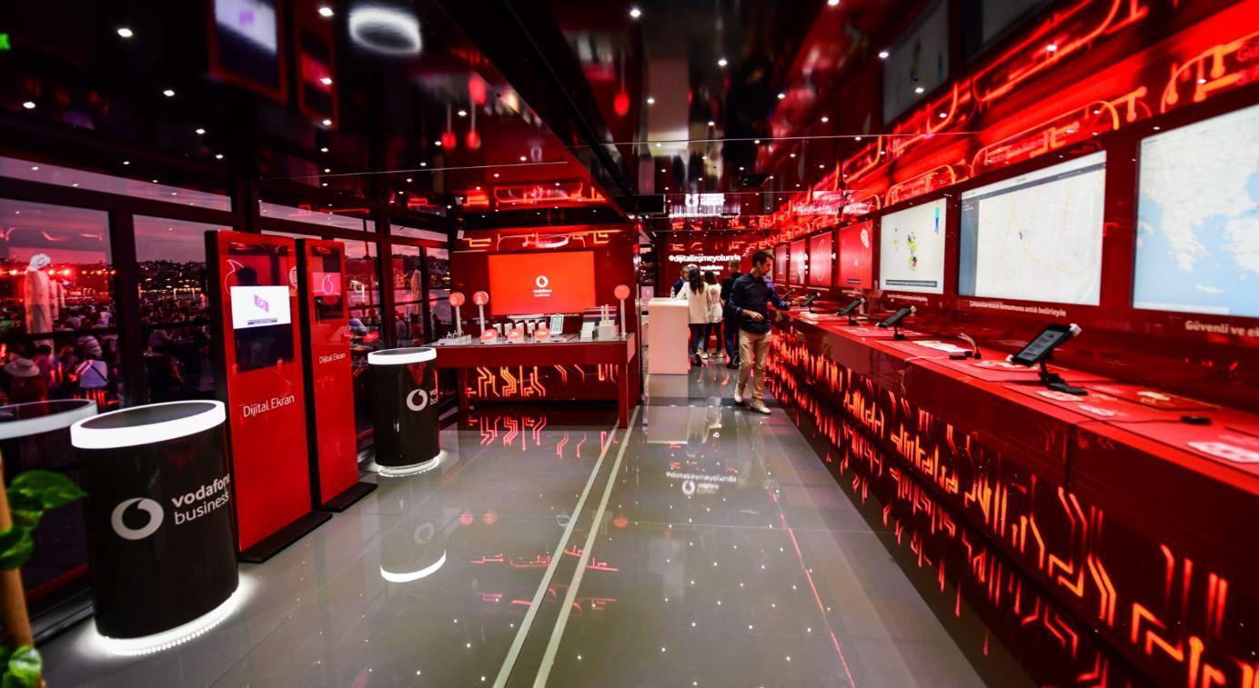 Vodafone business dijitalleşme tırı Türkiye turunu tamamladı