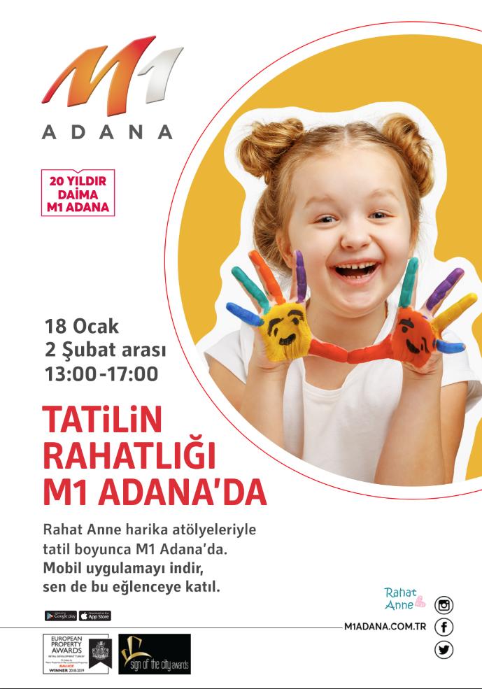 Tatilin Rahatlığı M1 Adana'da