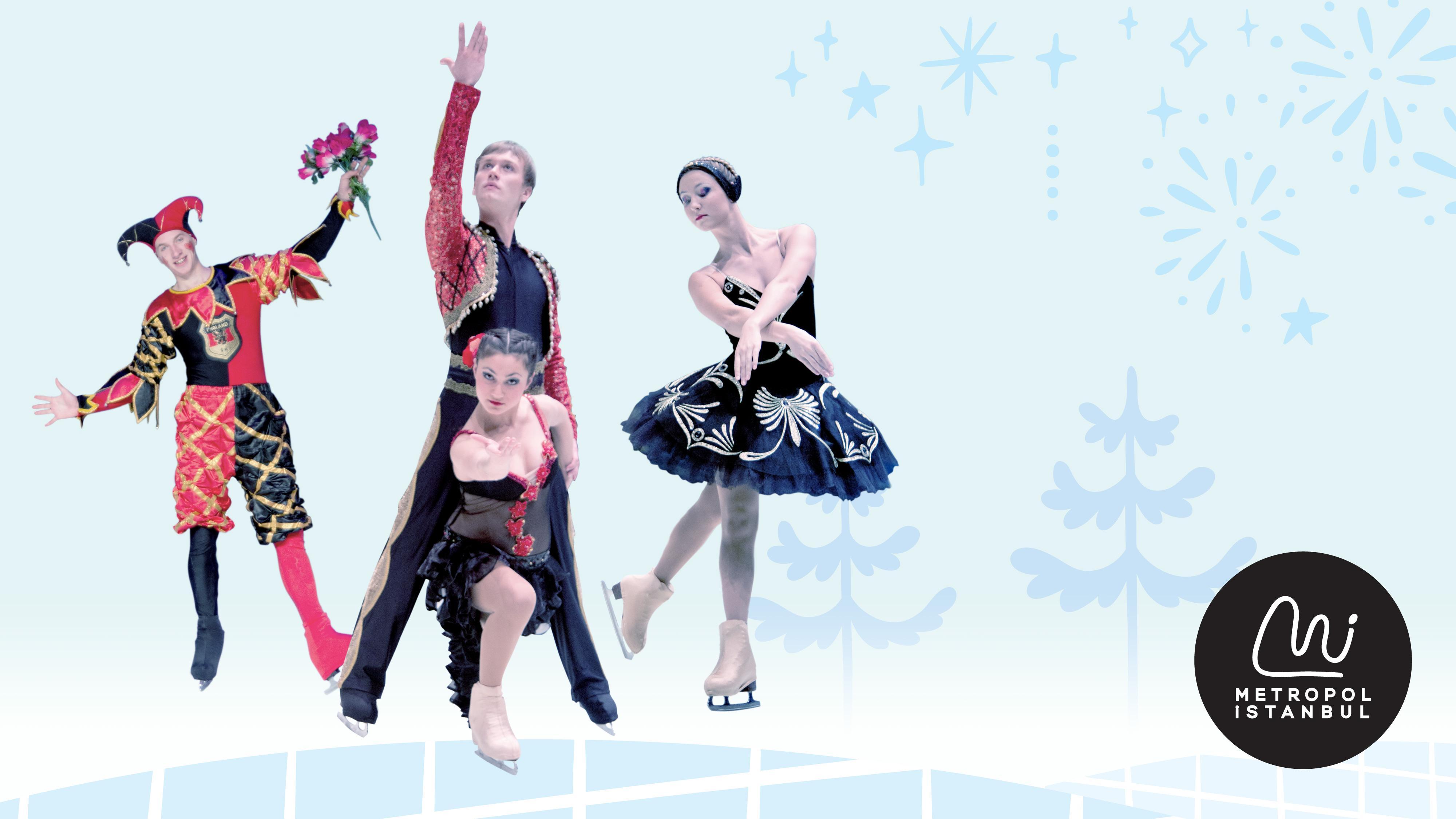 """Dünyaca ünlü buz sirki """"Moscow Ice Circus"""" Metropol İstanbul'a geliyor"""