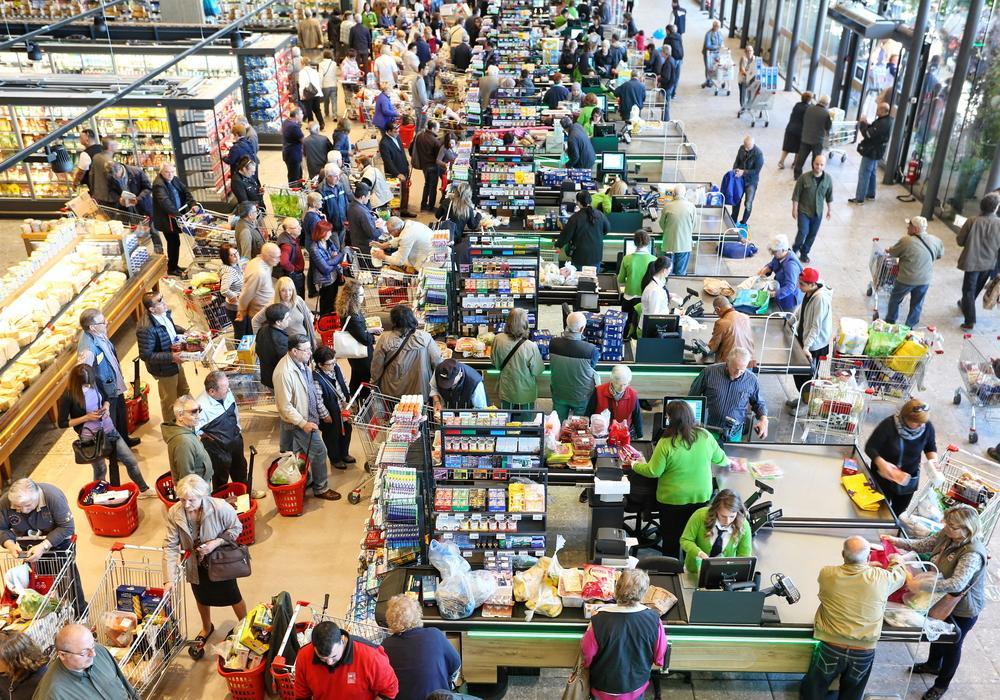 Marketlere corona akını
