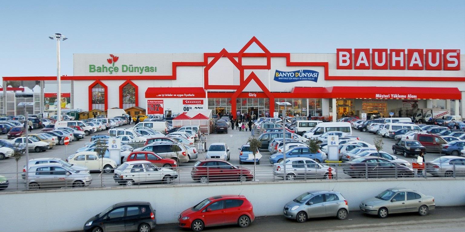 Bauhaus Türkiye'de online mağaza olarak hizmet verecek