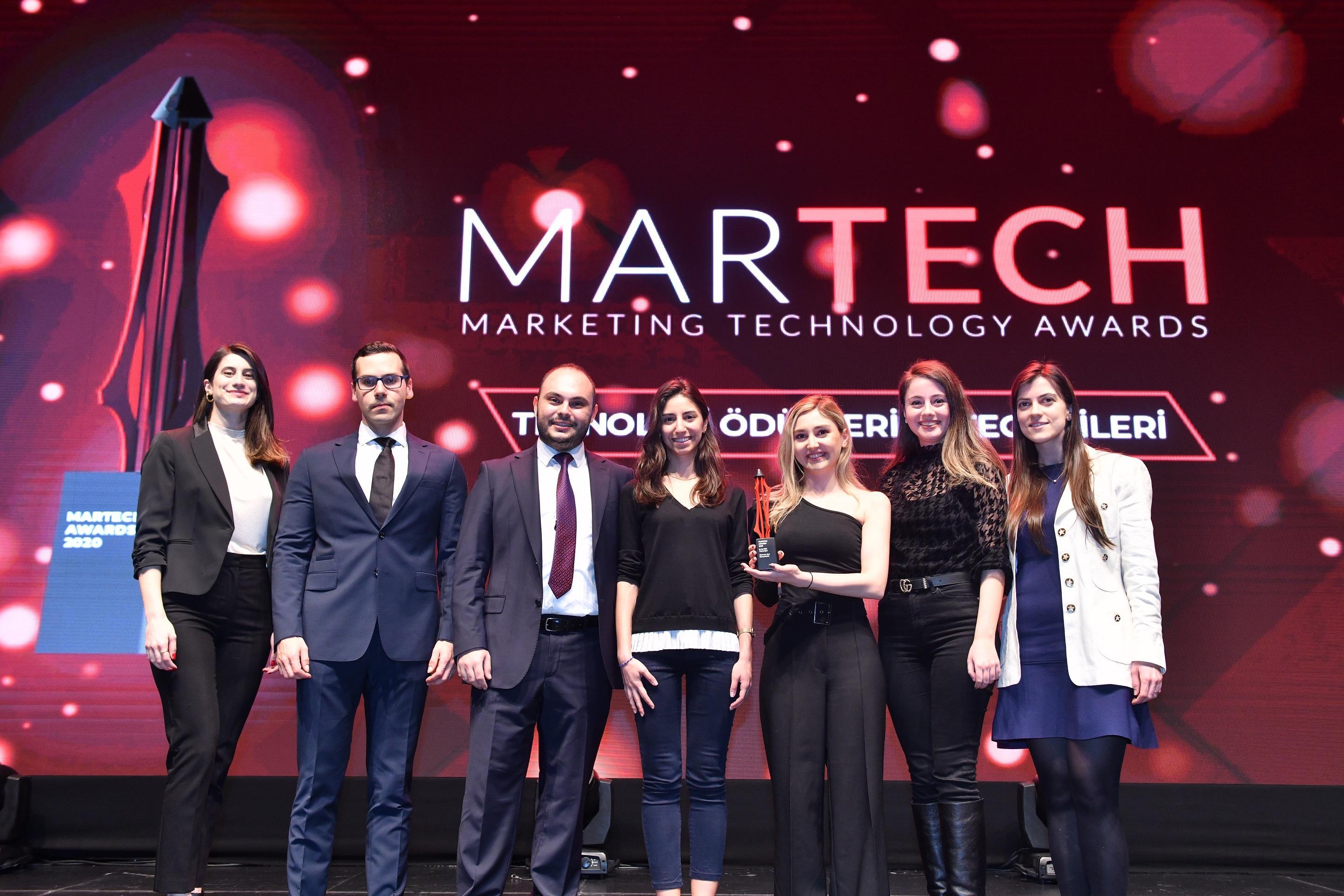"""2020 Martech"" Ödülü CarrefourSA, P&G ve SnA Consulting'in oldu"