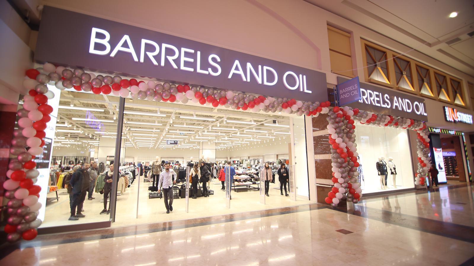 Barrels & Oil M1Konya AVM'de açıldı