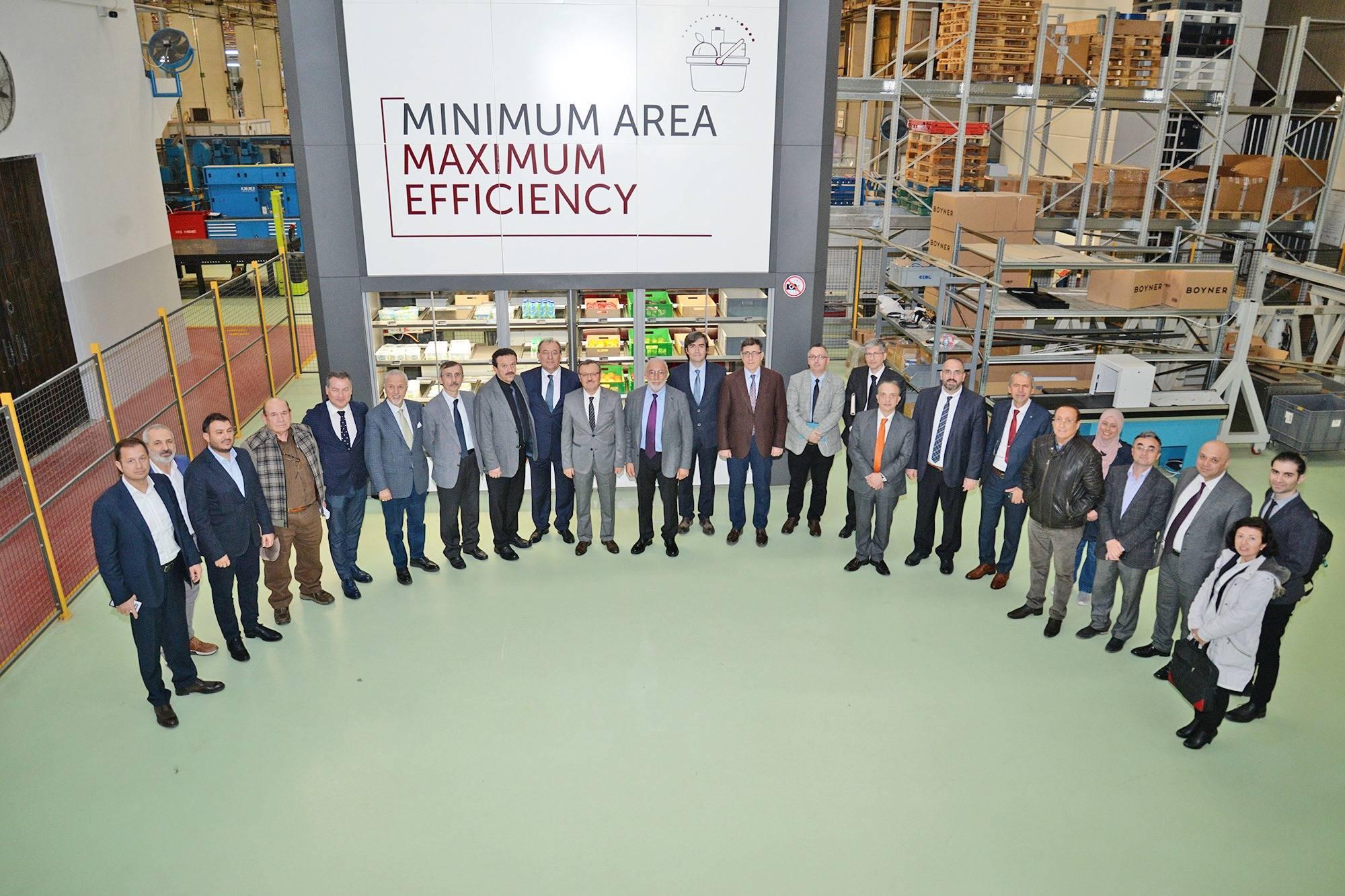 ÜÇGE Üniversite-Sanayi işbirliği kapsamında ÜSİGEM KÜSİ Çalışma Konseyi'ni ağırladı
