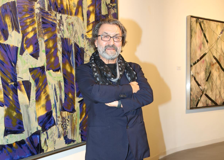 Dünyaca ünlü Türk ressam sanatseverler ile buluştu