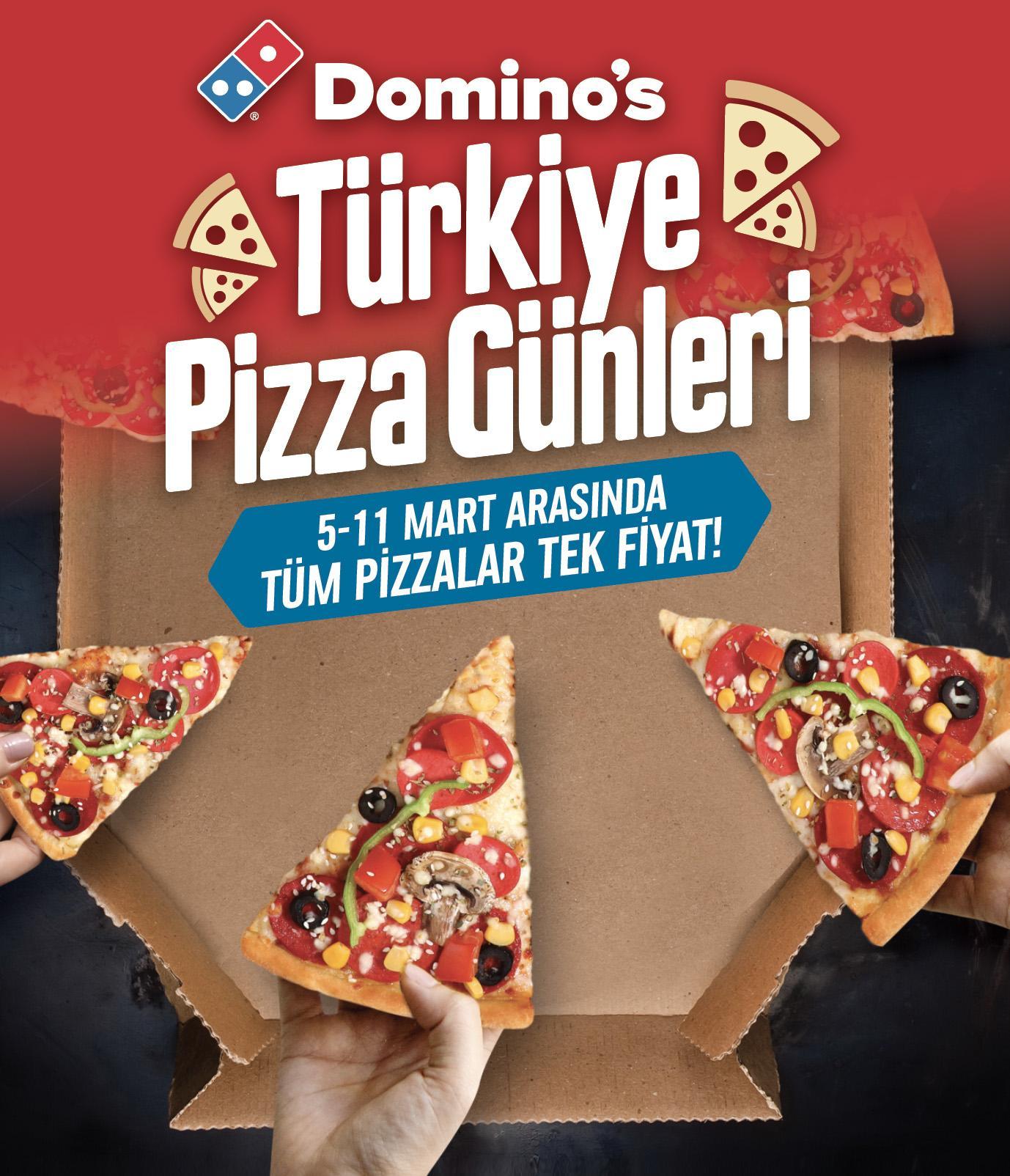 """""""Domino's Pizza Günleri""""nin ikincisiyle tüm Türkiye pizzaya doyacak"""