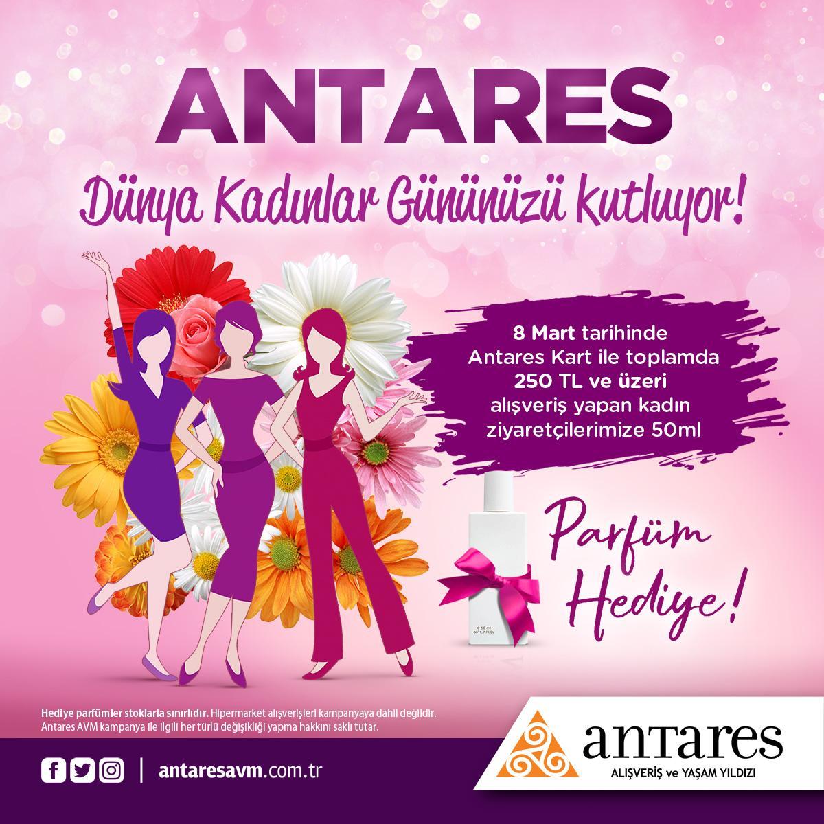 Antares'te her gün kadınlara özel