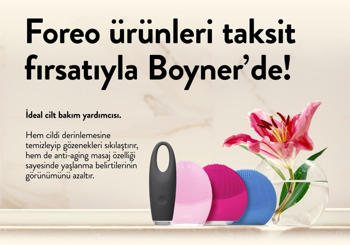 FOREO'nun en trend cilt bakımı ürünleri Boyner'de