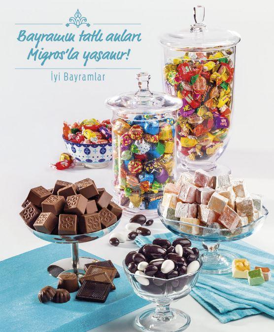 Bayramın en tatlı ürünleri Migros'ta