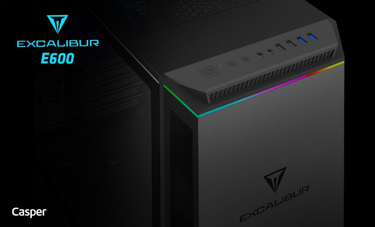Yeni teknolojili 'Excalibur E600' oyun bilgisayarı