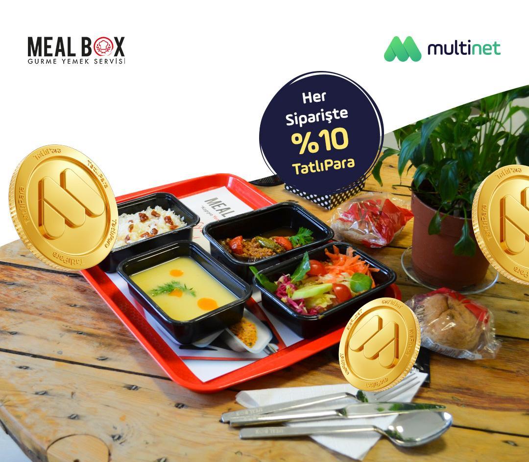 MultiNet'liler Meal Box siparişlerini online ödüyor