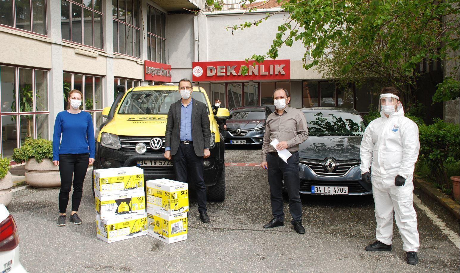 Kärcher'den İstanbul'daki hastanelere destek