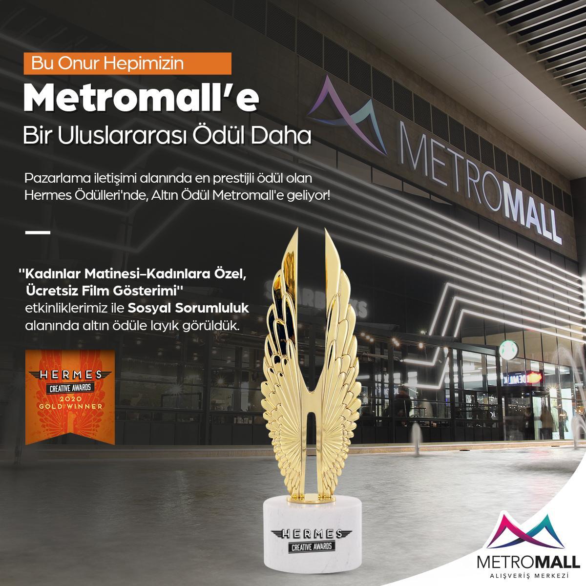 Metromall'e bir uluslararası ödül daha